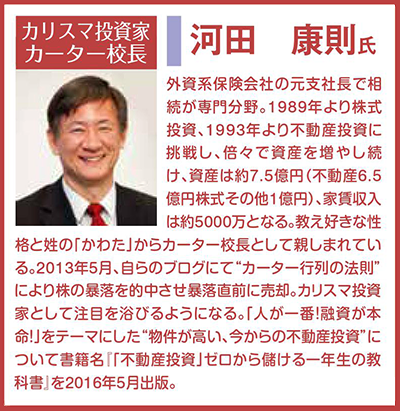 河田康則氏