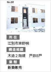 江別市東野幌 新築販売